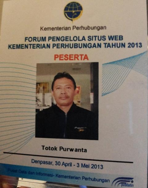 Forum Pengelola Situs Web Kementerian Perhubungan