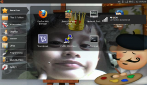 Ubuntu 9.10 Netbook Remix On Axioo Pico DJJ616