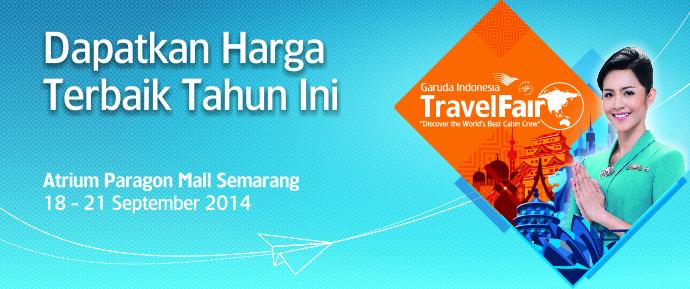Garuda Indonesia Travel Fair Wilayah Joglosemar