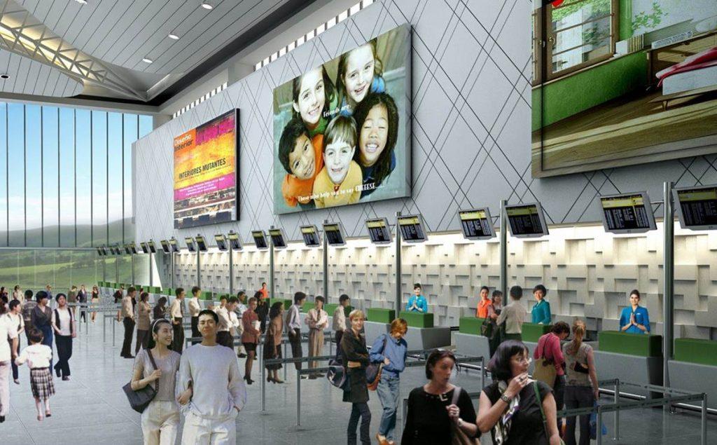 Area Checkin Bandara Baru Ahmad Yani Semarang