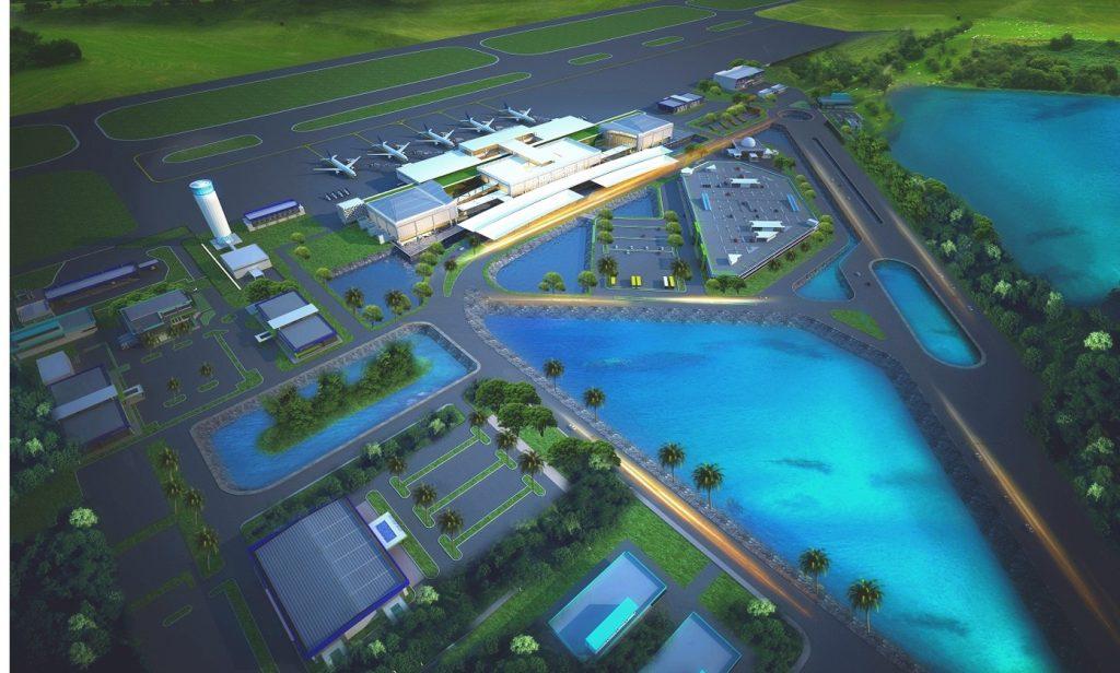Floating Airport Bandara Ahmad Yani Semarang