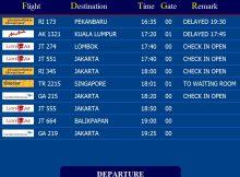 Flight Display Information System (FIDS)