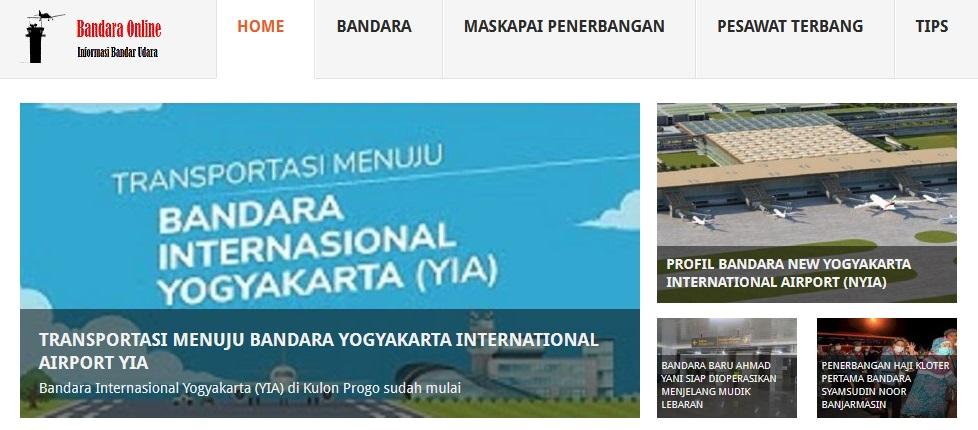 Website Bandara Online