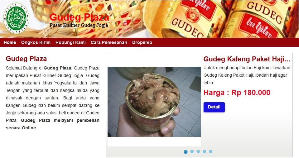 Toko Online Gudeg Plaza